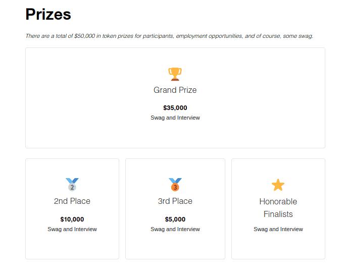 AVA Labs indica los premios de su hackathon