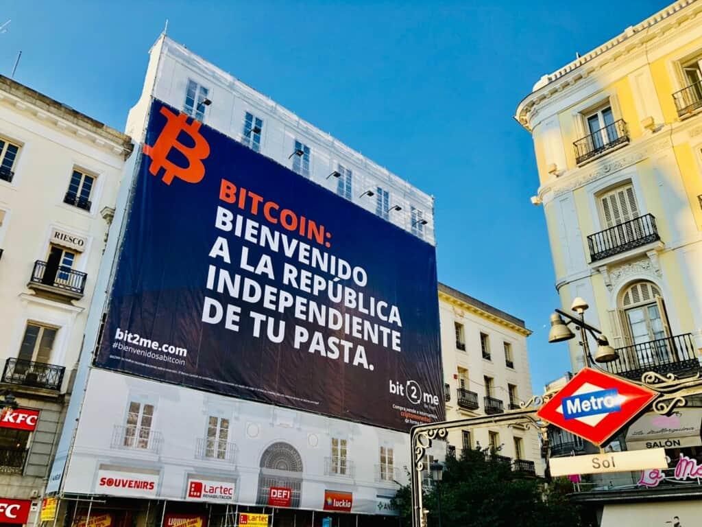 Bit2me Puerta del Sol